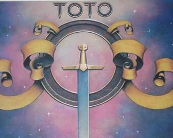 Toto record album, Toto vintage vinyl record