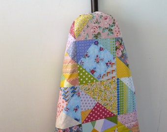 Ironing Board Cover -pretty pastel patchwork