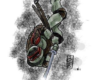 Teenage Mutant Ninja Turtle Leo