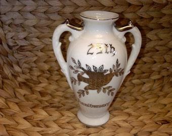 Vintage Norcrest 25th Anniversary Vase