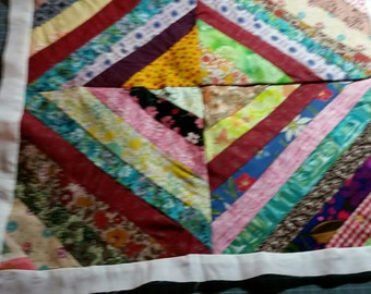 Vintage quilt blocks with vintage fabric