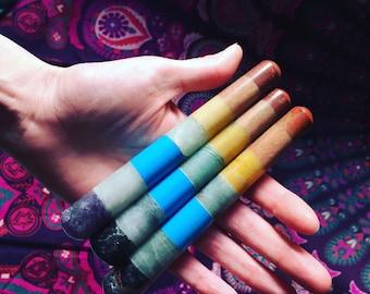 Chakra Wand, Meditation, Reiki, Gemstone Wand, Healing Energy, Chakra, Wand, Natural Stone, Chakra, Crystal Wand