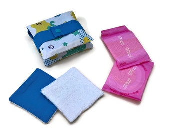 pocket washable sanitary towels or wipes