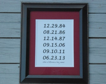 Custom gift mom dad family sign wedding special dates anniversary birthday new home first apartment housewarming BeachHouseDreamsHome OBX