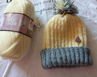 Hat  knitted handmade