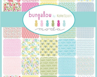 Bungalow Jelly Roll by Kate Spain for Moda