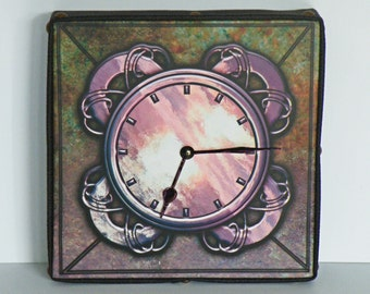Metallic Celtic Wall Clock