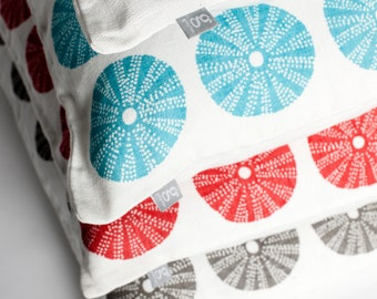 "Printed Linen Pillow 19"" / 48 cm"