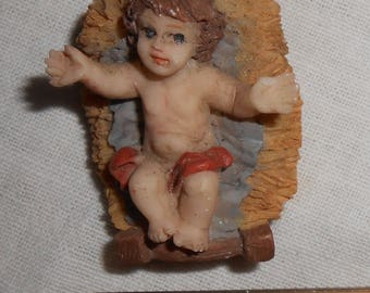 Mini Replacement Nativity Set Baby Jesus Christmas Religious Resin