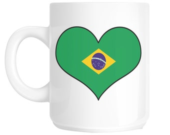Love Brazil Novelty Gift Mug SHAN747