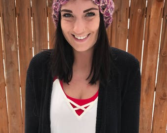 Ladies slouchy hat