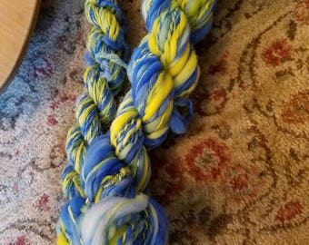 Win The Points - Hand dyed, hand spun art yarn