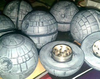 ORIGINAL Star Warz Death S. Tar Grinder CURRENT and ready for herbs gift idea Holiday Lavender, vanilla bean cilantro nerdy