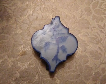 Blue Willow Coasters (set of four)