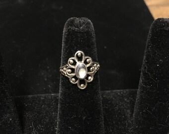 Vintage Ring, 925 Sterling, Stone