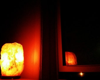 Himalayan Salt Lamp Night Light Digital Photo