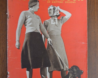 The 1938 Lux Book of Knitting Designs