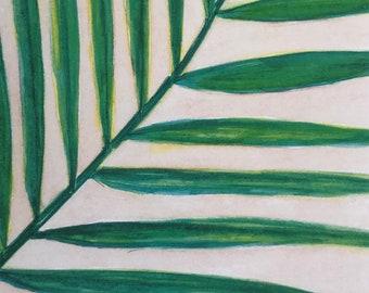 Watercolor Print - Fern