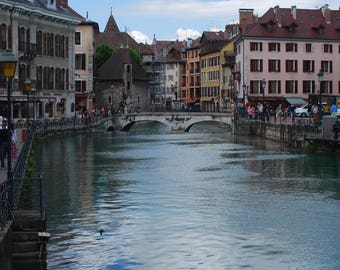 Annecy France Print