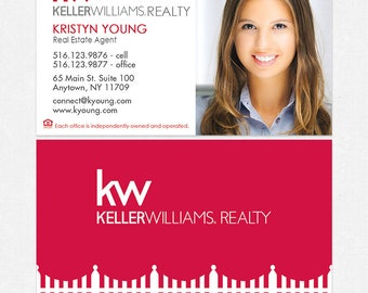 Keller williams real estate business cards thick color both keller williams real estate business cards thick color both sides free ups ground shipping colourmoves