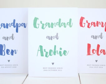 Grandad Father's Day Card - Father's Day Card - Card for Grandad - Grandpa Father's Day - Best Grandad Card - Grandad Card - Card for Him