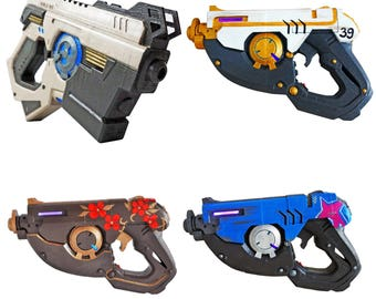 """Tracer Pulse Pistols with LED""""s from Overwatch. Prop / Replica / Cosplay"""