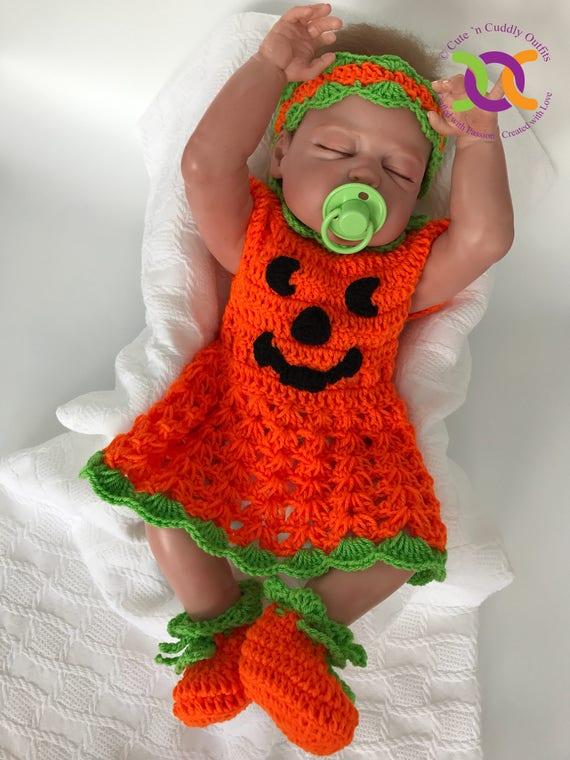 & Baby Halloween Costume Baby Pumpkin costume Halloween