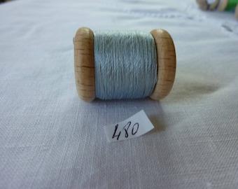 Spool of 16 meters of silk beaded No. 480