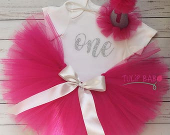 Birthday Tutu with Party Hat!!