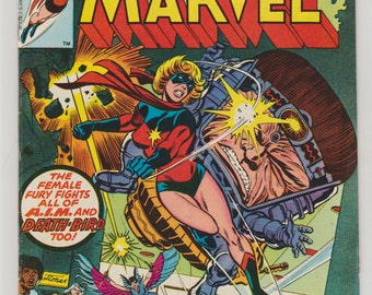 Ms. Marvel; Vol 1, 10 Bronze Age Comic Book.  VF- (7.5). October 1977.  Marvel Comics