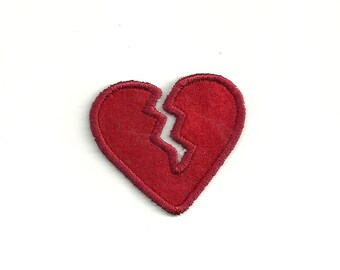 Tiny Broken Heart, Patch! Custom Made! AP27