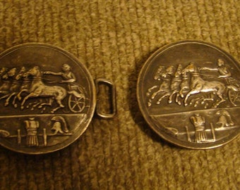F.N. & Co two piece belt buckle from 1910 (super rare)