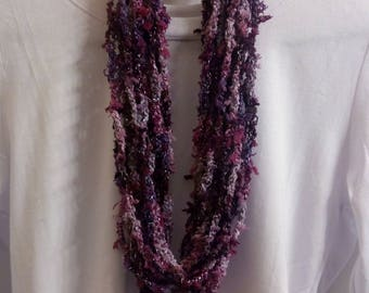 Nubby Crocheted Scarf/Necklace