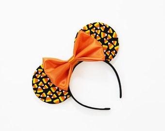 Candy Corn Halloween Mouse Ears