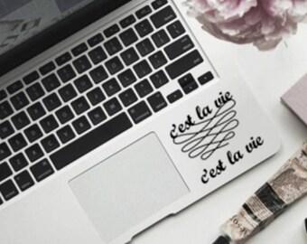 C'est La Vie - Laptop Decal - Car Decal - Sticker