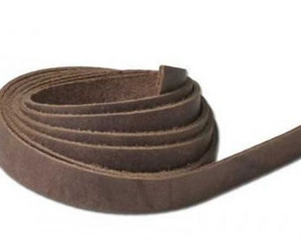 "Leather String 1/2"" x 48"" (13 x 1.2 m) Brown 5008-12"