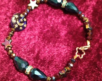 Blue Moon with stars bracelet