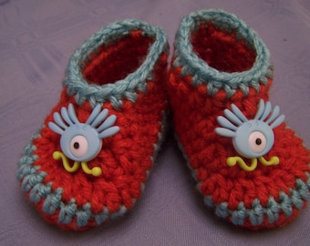 Red Monster Boots