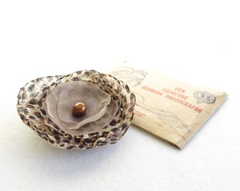 Animal Magnetism Flower - HairClip and Pin - Free Shipping in US