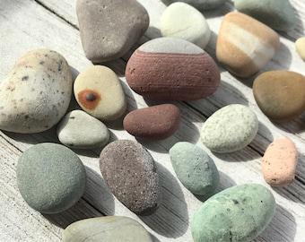 Alaska River rocks - River rocks bulk - Wedding stones - colorful rocks - Aquarium rock - Blessing stone - Banded stones - River pebbles