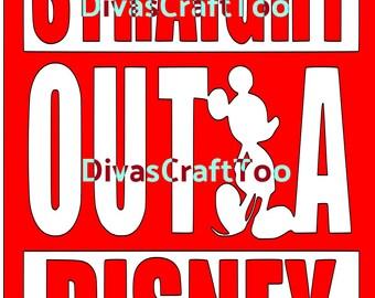 Straight Outta Disney SVG