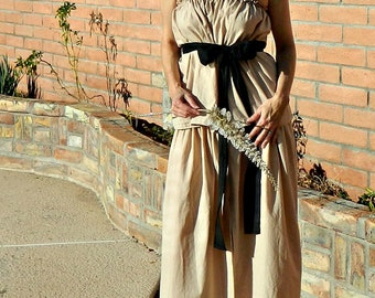 Bridesmaid Dress Long-Long Bridesmaid Dress-Boho Bridesmaid Dress-Top-Skirt Maxi-Wear Again Bridesmaid-Solids-Black Sash-Floral-No Fittings