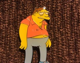 Barney hat pin