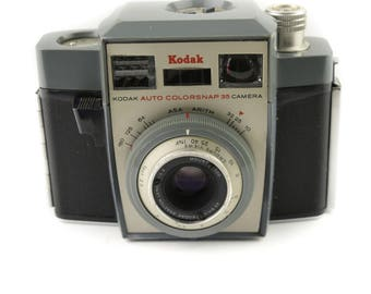 Kodak Auto Colorsnap 35 Camera with Anaston 43.9mm f/5.6 Lens c. 1962-64