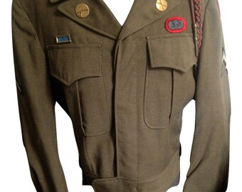 WWII 82nd Airborne Paratrooper Ike Jacket