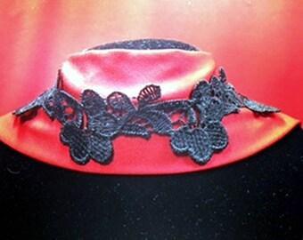 Bohemian Black Lace Choker