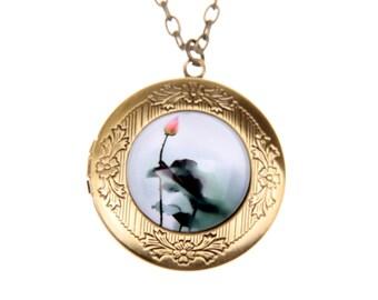 Lotus bud Necklace locket  2020m