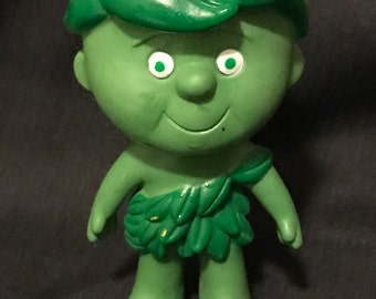 "Vintage Advertising Green Giant Advertising Figure ""Little Sprout"" Memorabilia"