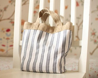 A Yard of Vintage Style Double Stripe Excellent Cotton,  U1649