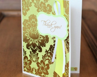 """Christian Thank You Greeting Card with Scripture """"May the Lord reward you for what you have done!"""" Ruth 2:12 Blank Note Card For Woman"""